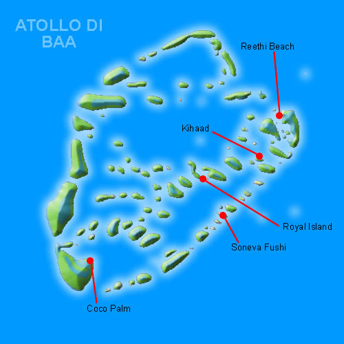 atollo di baa alle maldive