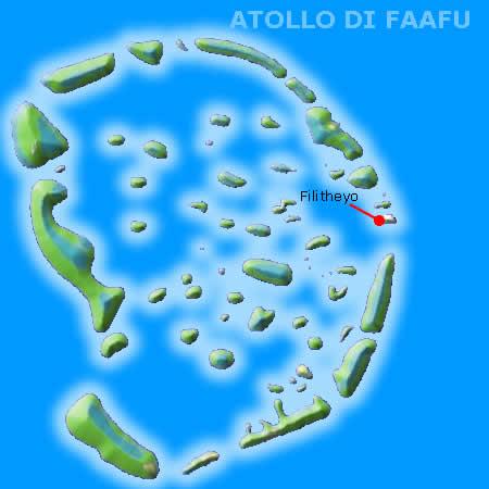 atollo di faafu alle maldive