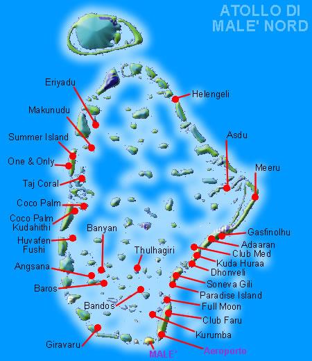 male - isole maldive