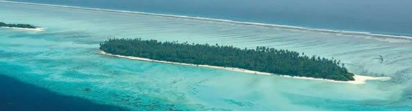 Atollo di Thaa alle Maldive